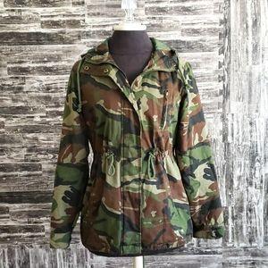 Ambiance Outerwear Women's Camo print jacket